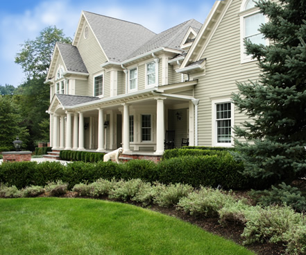 residential landscape project