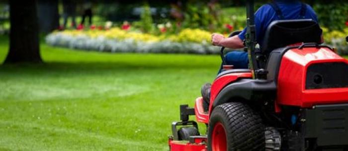 lawn mowing & landscape maintenance service